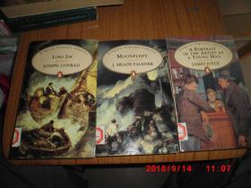 企鹅原版小说:Lord Jim by Joseph Conrad   等4册合售