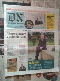 DIARIO DE NOTICIAS 葡萄牙新闻日报 2017/01/22 外文原版报纸学习资料