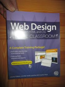 Web Design with HTML and CSS Digital Classroom, (Book and Video Training)      【詳見圖】