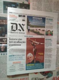 DIARIO DE NOTICIAS 葡萄牙新闻日报 2017/01/29 外文原版报纸学习资料