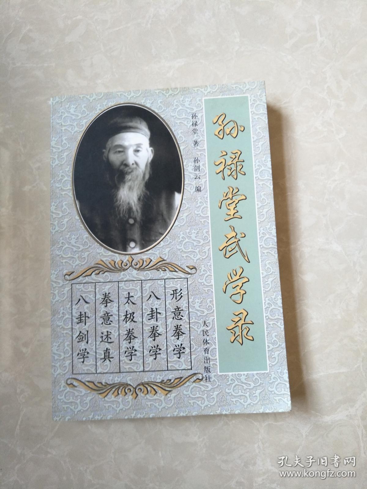孙禄堂武学录.