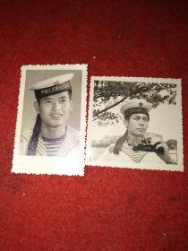 七八十年代海军照片两张(同一人)