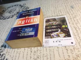 英文原版 pocket English Dictionary  口袋英语词典 【存于溪木素年书店】