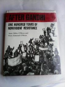 After Gandhi: One Hundred Years of Nonviolent Resistance    英文原版  16开精装