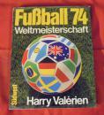 原版1974世界杯硬精画册