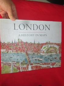 London: A History in Maps      (硬精装)         【详见图】