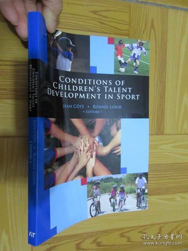 Conditions of childrens talent development in sport      (详见图)