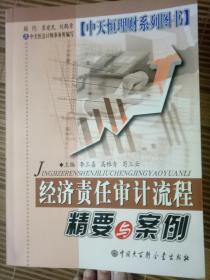 中天恒理财系列图书(企业经济责任审计精要与案例/经济责任审计流程精要与案例/ 内部审计规范精要与案例分析/经济责任审计评价精要与案例/四本合售