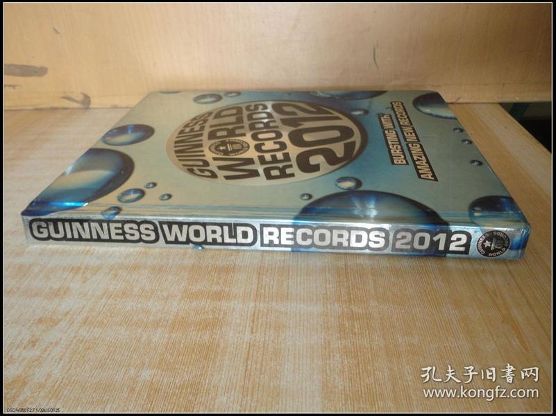 精装16开 厚册《GUINNESS WORLD RECORDS 2012》见图