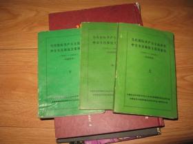 当代国际共产主义运动史中文书目和论文资料索引(1949-1984年)(上中下三册全)