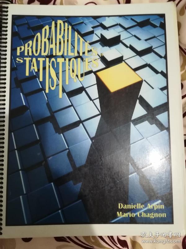 概率论与数理统计法语原版书