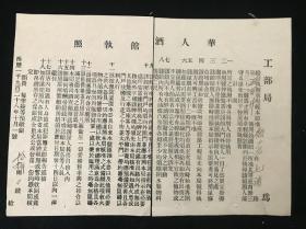 【民国(17)1928年,老上海,酒馆, 执照】《华人酒馆执照》一份(工部局,顾少岩,在七浦开设酒馆)(34*24)