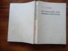 唯物主义和经验批判主义(英文版)