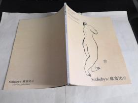 Sotheby's 香港苏富比2016年 INEFFABLE BEAUTY(常玉人体速写专辑)