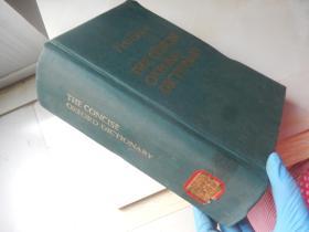 New Edition The Concise Oxford Dictionary【16开精装 英文版】(简明牛津辞典 第6版)