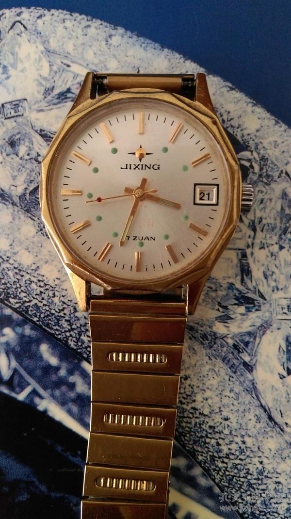 吉星牌军用手表(79年对越反击战连以上干部配发),走时准确。