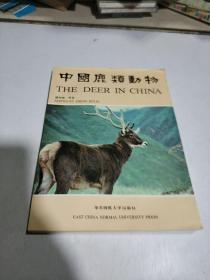 中国鹿类动物(一版一印)印1500册