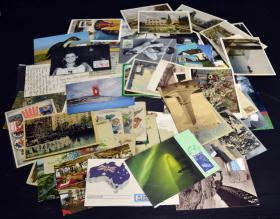 德国、苏联等明信片新旧约85件