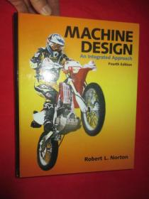 Machine Design: An Integrated Approach  (Fourth Edition)    附光盘     (硬精装)    【详见图】