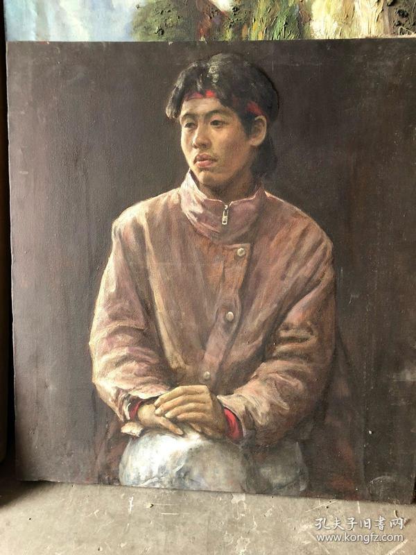 蔡景楷油画两幅