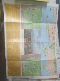青岛市区街道交通图