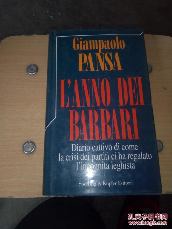 GIAMPAOLO PANSA LANNO DEI  BARBARI