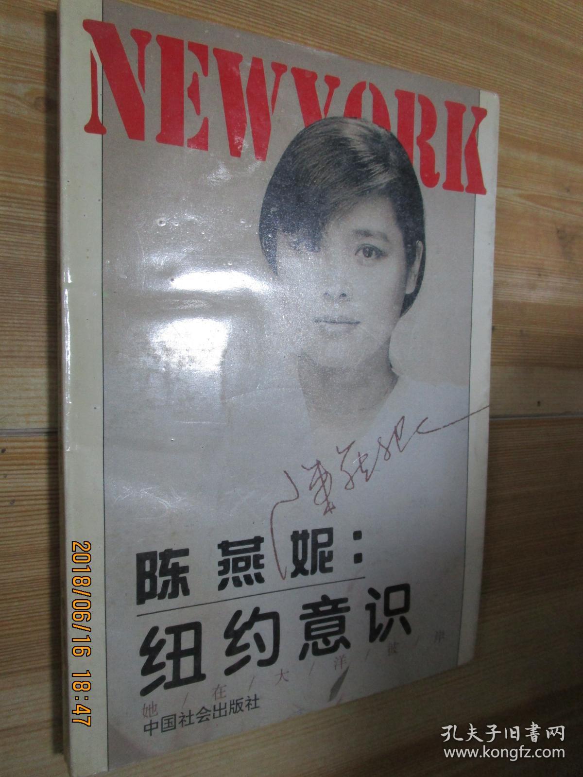 陈燕妮:纽约意识.她在大洋彼岸