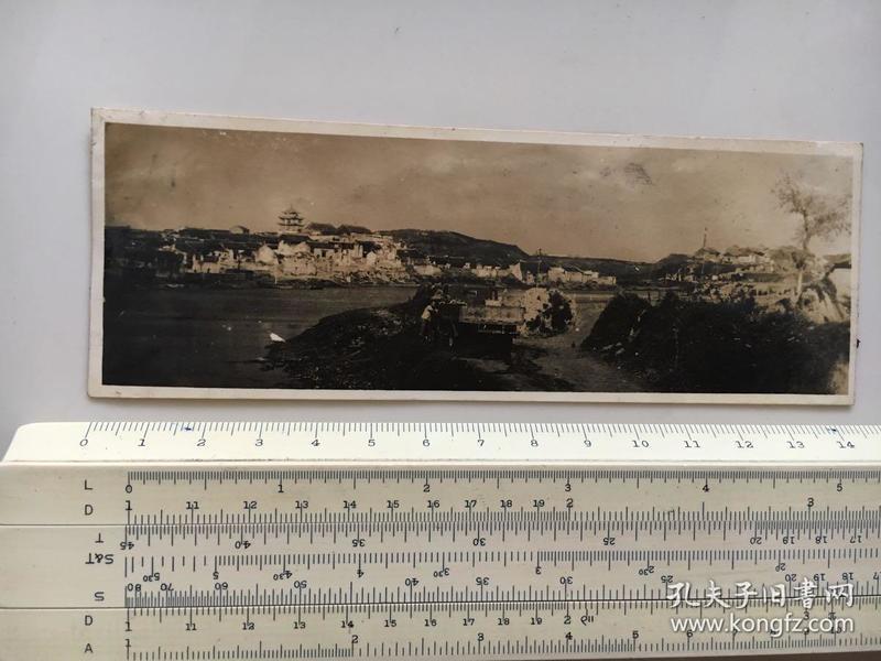 民国照片:湖北钟祥市郢中镇钟祥文峰塔附近风景1