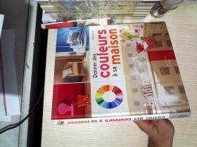 Donner des couleurs a sa maison (给点颜色的房子了)24开--法语