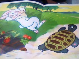 教学挂图-龟兔赛跑.2开.2张 4幅