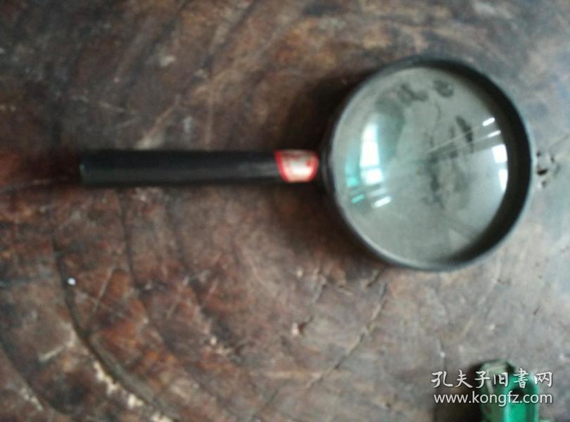放大镜一个,全长15.8厘米