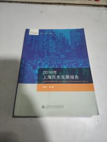 2016年上海民生发展报告(一版一印)