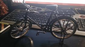 老式28大杠自行车,少见