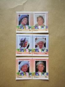 外国邮票 图瓦卢邮票Nui 6枚(甲17-2)