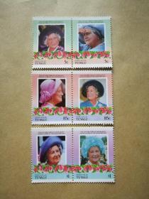 外国邮票 图瓦卢邮票Nukulaelae 6枚(甲17-3)