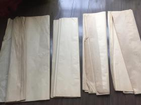 50年代【玉扣纸,25张】尺寸:63×57厘米,【玉扣纸,11张】尺寸:131×61.5厘米