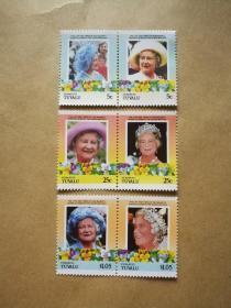 外国邮票 图瓦卢邮票Funafuti 6枚(甲17-4)