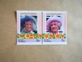 外国邮票 图瓦卢邮票Nanumea 2枚(甲17-4)