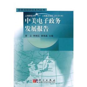 政务流程研究系列丛书:中美电子政务发展报告