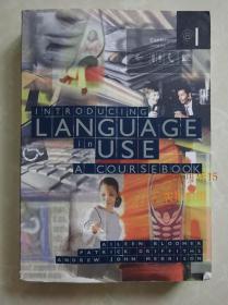 introducing language in use a coursebook Aileen 正版