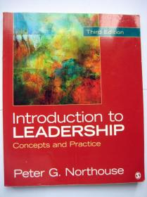 Introduction to Leadership  Concepts and Practice 第三版