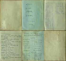 日记本(中医验方手抄)