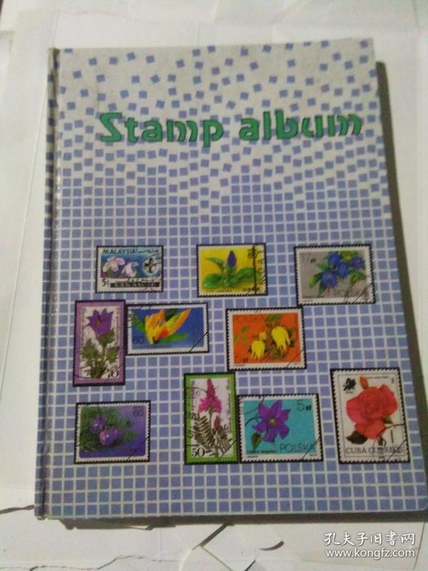 私人集邮册1本(带少量邮票)