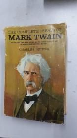 The Complete Essays Of Mark Twain (马克吐温随笔集)  包邮