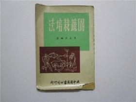1964年版 园蔬栽培法 (李友良编著 大中国图书公司发行)