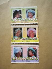 外国邮票 图瓦卢邮票Niutao 6枚(甲17-6)