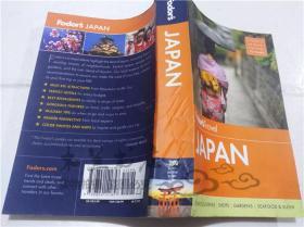 原版英法德意等外文书 Fodors JAPAN Arudou Debito  MAP 2014年 32开平装