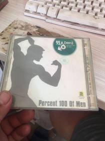 百分之百男人  光盘