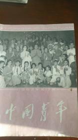 《中国青年》(封面江青照片,1963年17期)