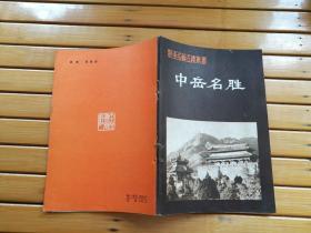 中岳名胜(河南名胜古迹丛书)32开66页)